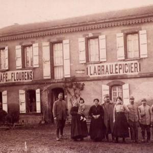 Épicerie Labrau  en 1917