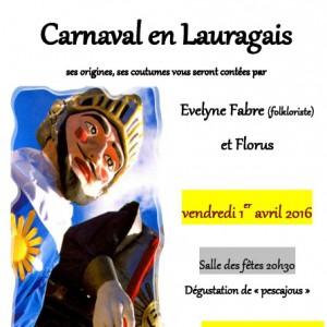2016 Veillée Carnaval