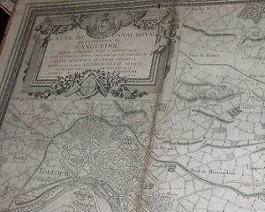 Archives Canal du Midi Carte