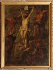 Christ en croix XVIIIe siècle