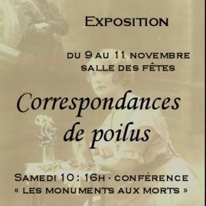 Exposition Correspondances de Poilus