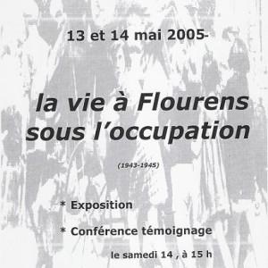 Exposition Flourens sous l'Ocupation