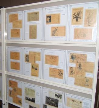 Exposition Poilus Cartes Postales