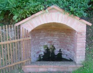 Fontaine de Flourens a la creche