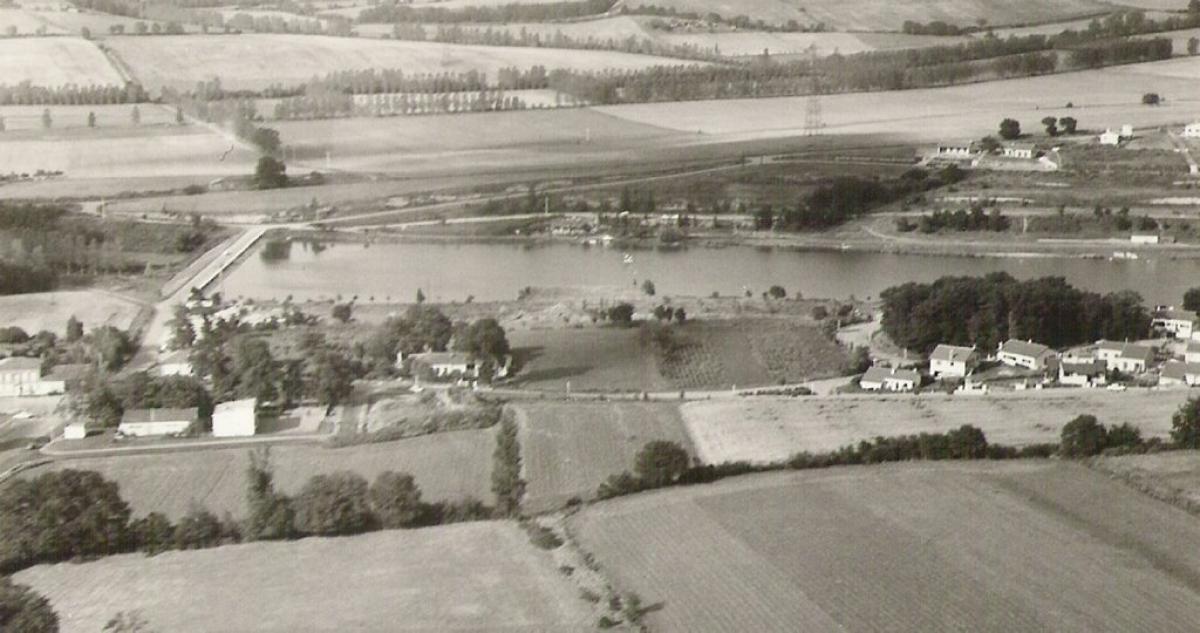 Lac de Flourens en 1970