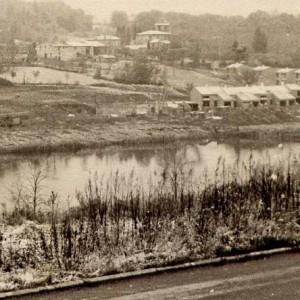 Lac de Flourens en 1977