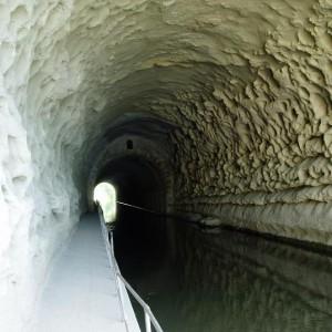 Tunnel du Malpas dedans