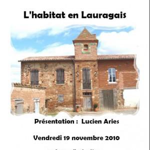 Veillee du 19:11:2010 L'habitat en Lauragais