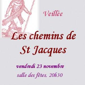 Veillee du 23:11:2007 Les Chemins de Saint Jacuqes Flourens