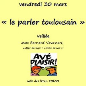 Veillee du 30:03:2012 Le parler toulousain Flourens