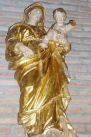 Vierge à l'enfant XVIIIe siècle