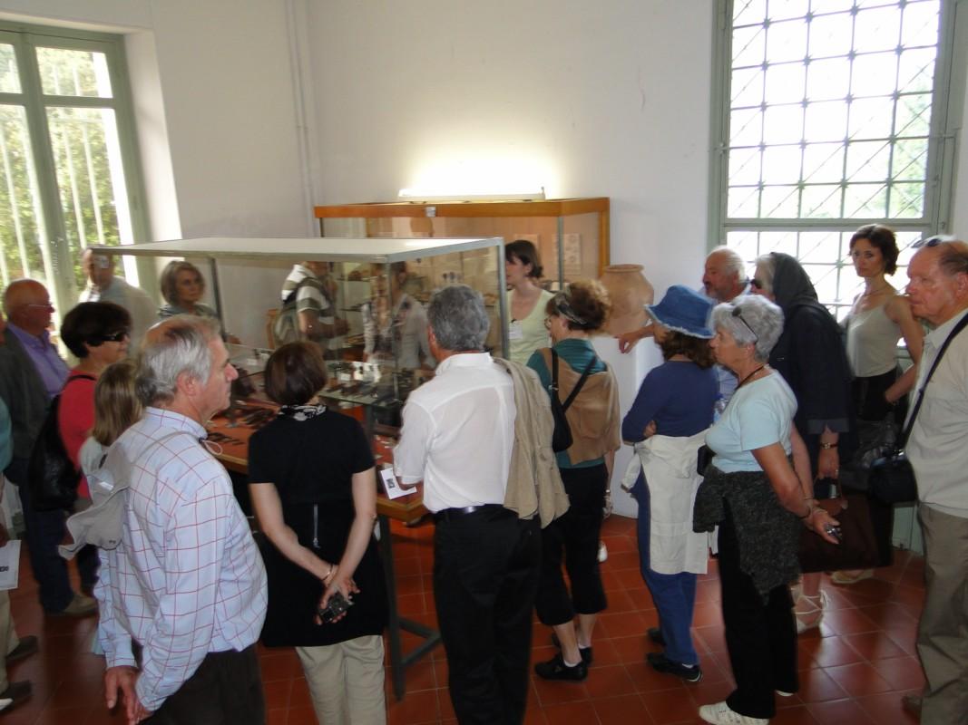 visite du musée très riche d'Ensérune