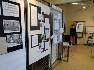 une partie de l'expo