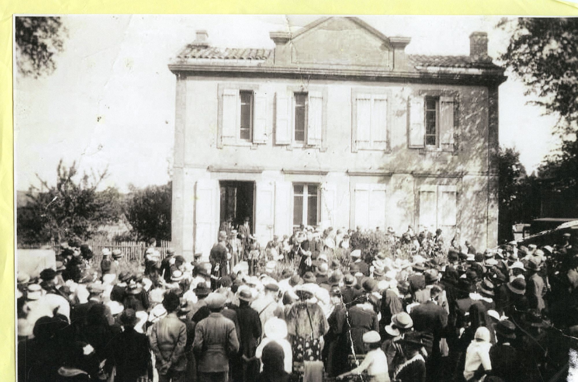 inauguration clocher 1937