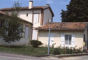 Mairie de Flourens dans les années 1980 avant restauration