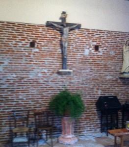 Mur du fond Chapelle de la Madeleine